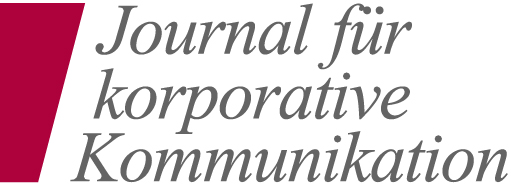 Journal für korporative Kommunikation Logo
