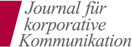 Journal für korporative Kommunikation Logo